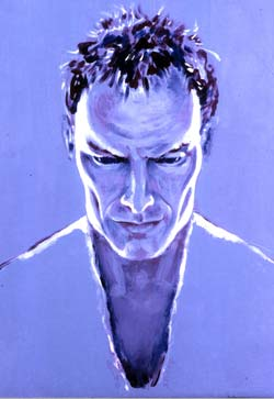 Sting from the Police painted by Grace Slick