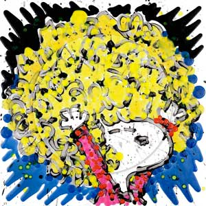 Dogg E Paddle by Tom Everhart