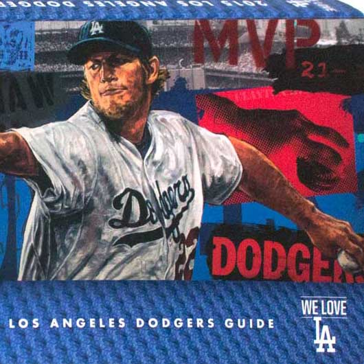 Stephen Holland Los Angeles Dodgers Covers