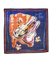 Liberty and Company scarf fashion by Ronnie Wood