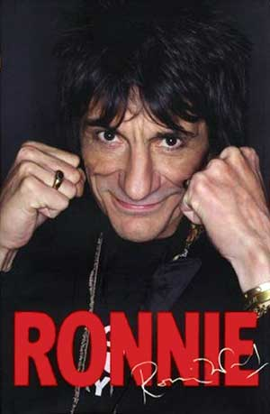 Ronnie Wood Auto Biography