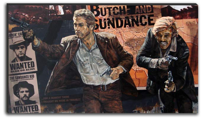 Butch Casedy and the Sundance Kid by Stephen Holland