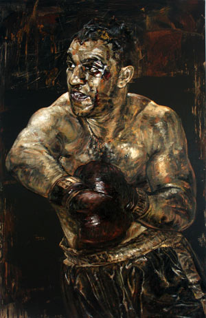 Rocky Marciano by Stephen Holland