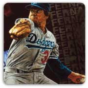 Fernando Valenzuela by Stephen Holland