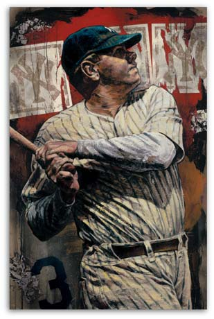 Bambino Babe Ruth by Stephen Holland