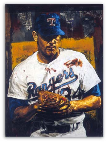 Bloody Nolan Ryan by Stephen Holland