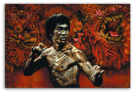 Bruce Lee by Stephen Holland