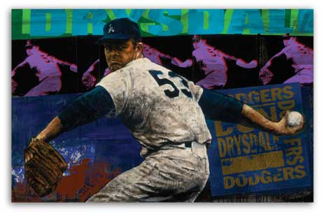 Don Drysdale by Stephen Holland