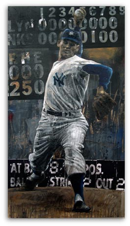 Perfect Game Don Larsen by Stephen Holland