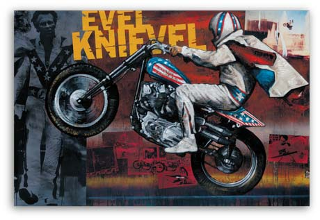 Evel Knievel by Stephen Holland