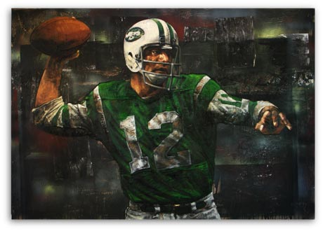 Joe Namath 06 by Stephen Holland