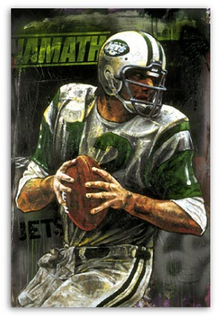Joe Namath by Stephen Holland