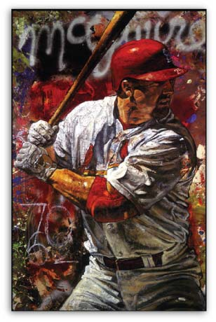 Mark McGwire by Stephen Holland