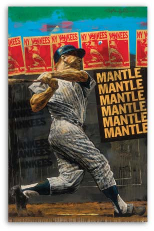 The Mick / Mickey Mantle by Stephen Holland