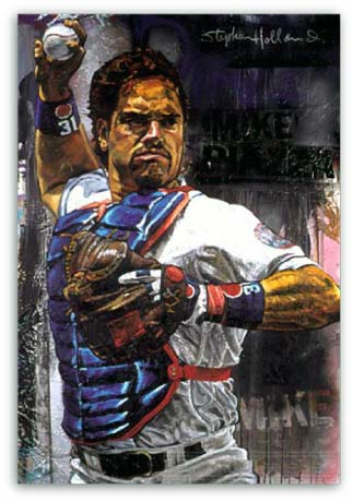 Mike Piazza by Stephen Holland