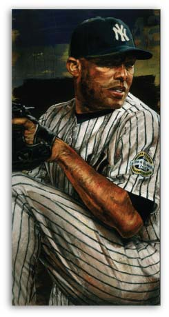 Yankee Mariano Rivera by Stephen Holland