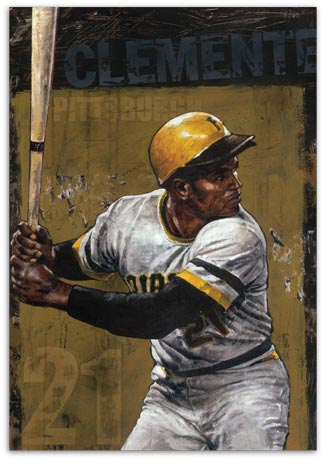 Roberto Clemente by Stephen Holland
