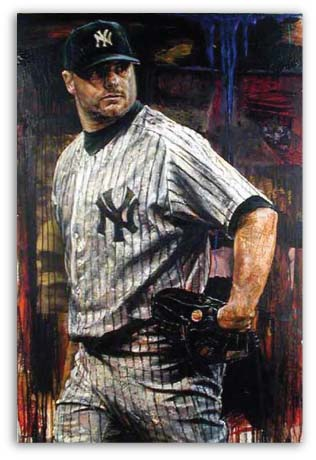 Roger Clemens by Stephen Holland