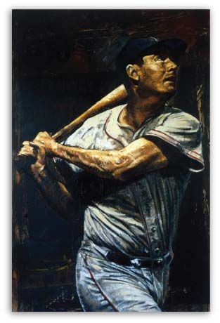Ted Williams by Stephen Holland