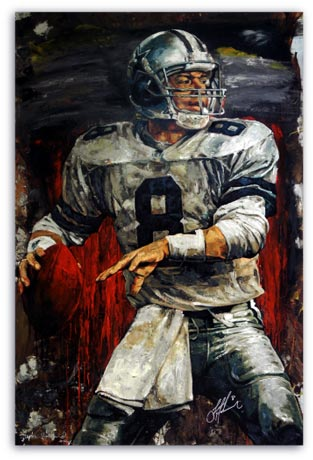 Troy Aikman by Stephen Holland