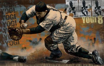 Yogi Berra by Stephen Holland