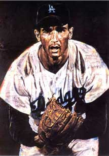 Sandy Koufax by Stephen Holland