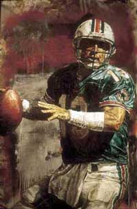 Dan Marino by Stephen Holland