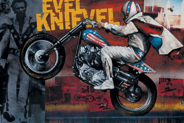 Evel Knievel The Ring Fire