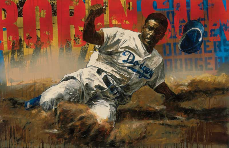 Jackie Robinson by Stephen Holland