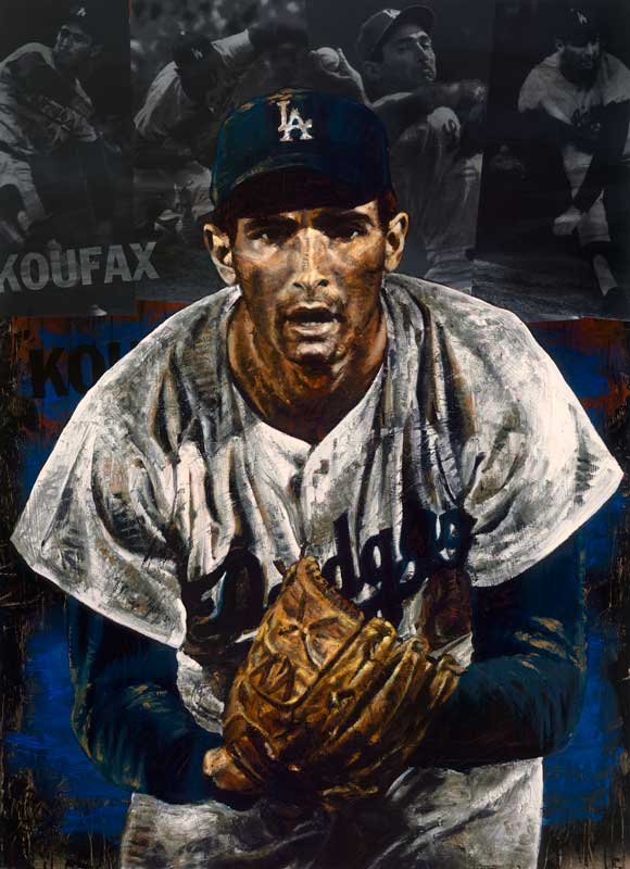 Koufax Stare by Stephen Holland