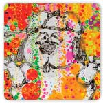 Tangerine Scream Bubble Bath by Tom Everhart