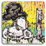 Lucy and Snoopy in Coconut Bouffant by Tom Everhart