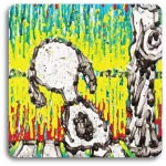 Snoopy in Twisted Coconut by Tom Everhart