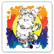 Rocco and Roll by Tom Everhart