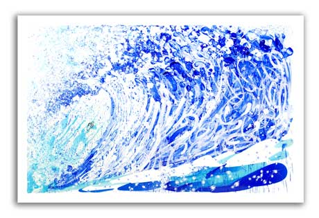 Jean Michel's Wake Maxi by Tom Everhart