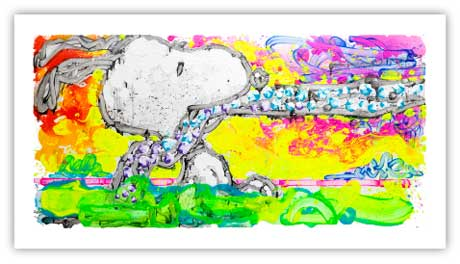 Coup D'état painted by artist Tom Everhart