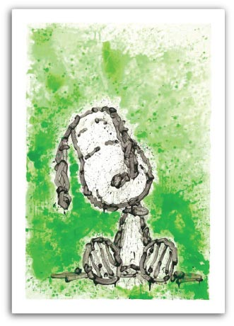 Snoopy as Gang Star Dreams by Tom Everhart