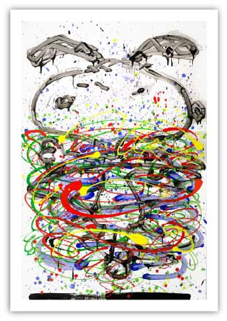Little Fancy Blue by Tom Everhart