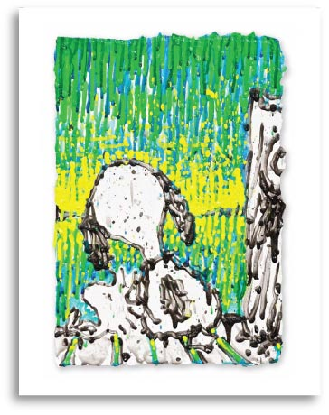 Woodstock and Snoopy in Coconut Couture by Tom Everhart