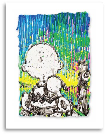 Charlie Brown and Snoopy in Coconut Fabulouse by Tom Everhart