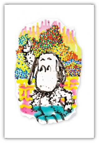 Water Lily III by Tom Everhart