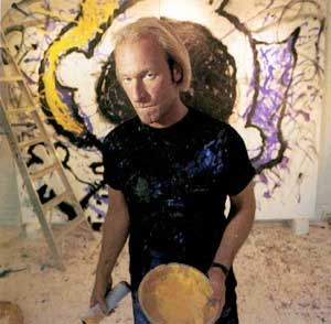 Tom Everhart in the studio